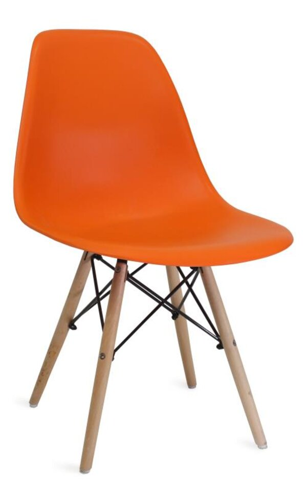 Scaun DP Eames A-37 Orange