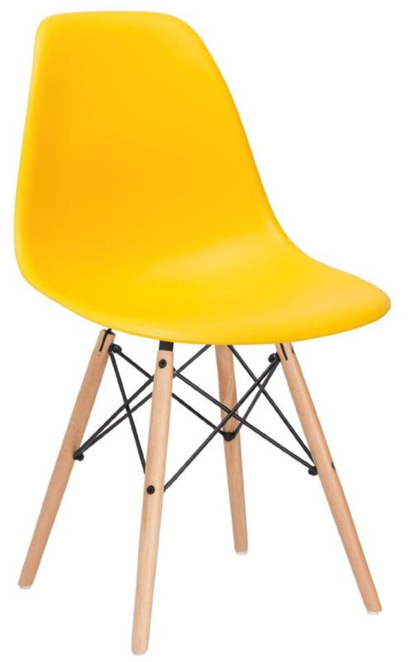 Scaun DP Eames A-37 Yellow
