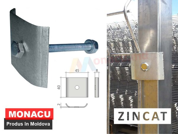 Element de fixare S40 zincat