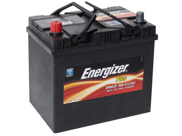 Acumulator Energizer Plus 60Ah 510A(EN) 232x173x225 (L+) Japan