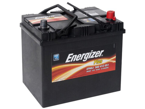 Acumulator Energizer Plus 60Ah 510A(EN) 232x173x225 (P+) Japan