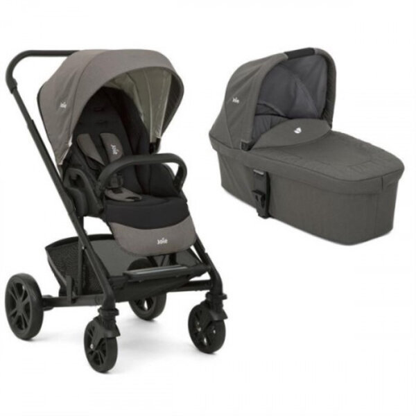 Carucior multifunctional 2 in 1 Joie Chrome Foggy Gray